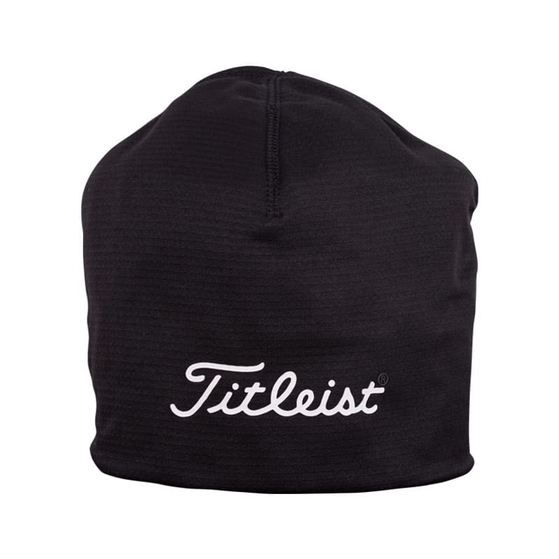 5cdc140e6 TITLEIST TOUR PERFORMANCE WINTER GOLF BEANIE - BLACK