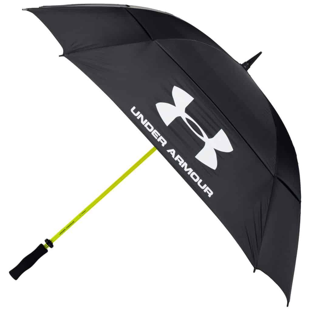 Under Armour 68 Quot Dual Canopy Tour Logo Golf Umbrella